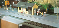 Knightwing PM133 OO Gauge Branch Line Station Plastic Kit