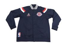 Adidas NBA Authentics Detroit Pistons Joel Anthony Game Worn Jacket 3XL Navy