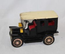 """Vintage Car Truck Tin Friction Toy - Made In Japan - 1940s/50s/60s - Black 6.5"""""""