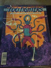 Foo Fighters Status Serigraph poster