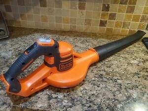BLACK & DECKER (20V) LITHIUM-ION CORDLESS BLOWER WITH POWER BOOST **TOOL ONLY**
