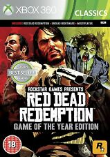 Red Dead Redemption GOTY Classics - backwards compatible on XB1