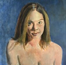 Jeffrey Lloyd Barnes Original 20x16 Figure Painting Woman Bust