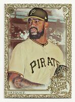 FELIPE VAZQUEZ 2019 Topps Allen and Ginter Gold Border Pittsburgh Pirates (#86)