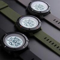 SKMEI Mens Military LED Digital Date Countdown Timer Sport Quartz Wrist Watch US