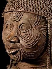 ** Ife Bronze Kopf / Nigeria, Benin ** 6 Kilo **