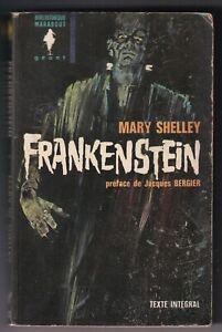 MARY SHELLEY: FRANKENSTEIN. MARABOUT. 1964.