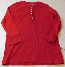 Allyson Whitmore womens 3/4 sleeve Shirt top S small Red 195MS NWT