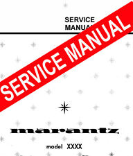 MARANTZ 2226B  RECEIVER - REPAIR / SERVICE MANUAL