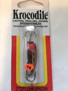LUHR JENSEN         KROCODILE    1/6 oz.                 Nickel / Fire Wing