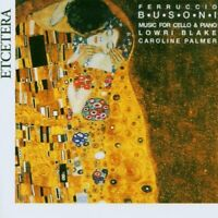 BLAKEPALMER - MUSIC FOR CELLO AND PIANO [CD]
