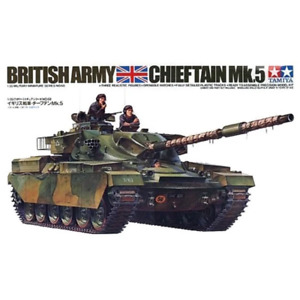 Tamiya 35068 1/35 British Chieftain Mk5 Tank Plastic Model Kit Brand New