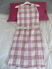 ROBE BURBERRY 100% LIN Taille UK 8 USA 6