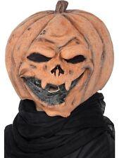 Maschera Halloween Carnevale Adulto Zucca Horror Accessorio Smiffys *13948