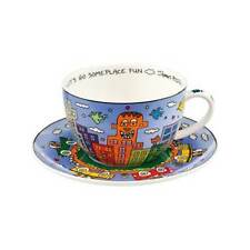 """GOEBEL James Rizzi """"Let's Go Out for Fun"""" Cappuccinotasse - 26102031"""