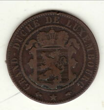 LUXEMBOURG 10 CENTIMES CUIVRE 1860 A