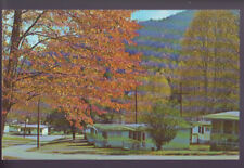 Fontana Dam North Carolina Nc Fall Fontana Village Resort Vintage Postcard Pc