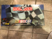 New 1997 NASCAR Monopoly Game Official Collector's Edition Pewter Tokens SEALED