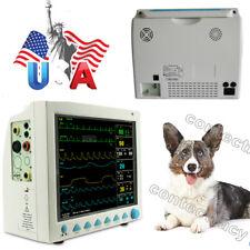 US sale 12.1 inch VET Veterinary ICU CCU Patient Monitor Vital Signs 6-Parameter
