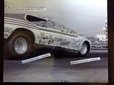 Harlan Thompson 8x10 Tom and Jerry Nhra circa 1973 funny car