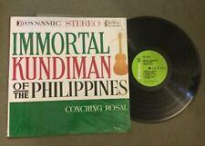 Conching Rosal Immortal Kundiman of Philippines LP Villar MLP-5039 Stereo 1960s