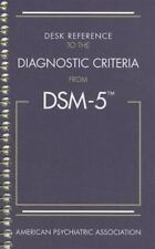 SPIRAL BOUND Complete DSM-5 Desk Reference to the Diagnostic Criteria from NEW