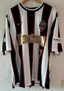 MLS Nike New York Metrostars 1997 Roberto Donadoni Away Soccer Jersey