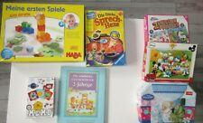 Spielzeugpaket 2-4 Jahre Puzzle Haba Ravensburger ....  Gitti Giraffe u.a.