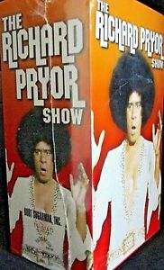 The Richard Pryor Show - 3 VHS Set NEW!John Belushi, Robin Williams, Stand up