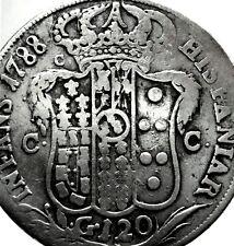 Napoli (Ferdinando IV di Borbone) 120 Grana 1788-RRRR.