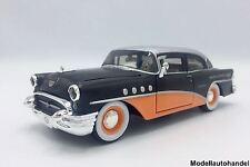 Buick CENTURY NERO/ARANCIONE 1955 HARLEY DAVIDSON - 1:24 Maisto UVP 29,99 € NUOVO!