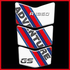 paraserbatoio BMW R 1250 GS adesivo per moto  protezione serbatoio 3d resinato .