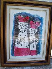 quadro tempera su cartoncino di Alfredo D'Angelo 50x70