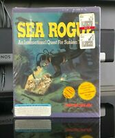 *SEALED* Sea Rogue - DOS, 1992 - MicroPlay / Microprose - Big Box PC Game