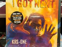 Krs-One I Got Next LP Record Double Vinyl 1997 JIVE 41601 SEALED HYPE STICKER