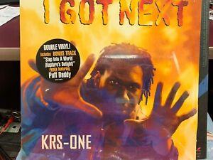 Krs-One I Got Next LP Record Double Vinyl 1997 JIVE 41601 SEALED HYPE STICKER
