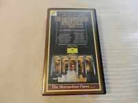 Metropolitan Opera Gala 1991 - 25th Anniversary at Lincoln Center (VHS, 1992)