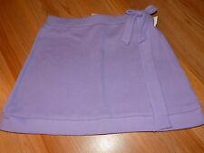 Size 10-12 Disney Wizards of Waverly Place Solid Lilac Purple Short Skirt NWOT