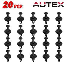 20pcs Bumper Radiator Moldings Hood Clips Retainer Fastener for Ford Contour