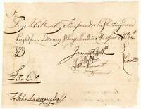 Revolutionary War Dated Manuscript Pay Order