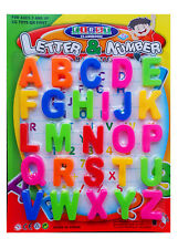 Fridge Magnets Alphabet Numbers STRONG MAGNETS MAGNETIC BABY LETTERS AND LARGE