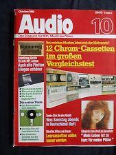 AUDIO10/82.  B & W LM1,RESTEK V2a,JVC X55,TRANSROTOR ROUNDABOUT,SONY WLKMAN PROF