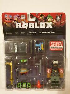 ROBLOX Accessories Avatar Shop Party SWAT Team*FBI*