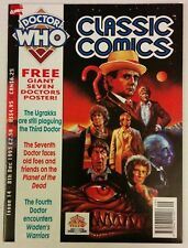 Doctor Who Classic Comics #14 Marvel UK 1993 Ugrakks Planet of the Dead 7th 4th