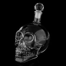 350ML Crystal Skull Head Vodka Bottle Bar Container Festival Transparent