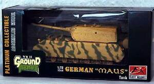 Easy Model - Solid Mouse War Version Army Armored Car Tank 1:72 Trumpeter