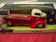 Jada 1947 Ford COE Flatbed 1:24 Scale with extra wheels in box 2019 release