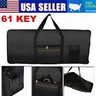 Portable Electronic 61 Key Keyboard Piano Cover Case Gig Bag For Yamaha Black US