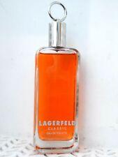Lagerfeld CLASSIC EDT Natural Spray 3.3 oz NO BOX Mens