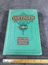Dietzgen Drafting Surveying Supplies Catalog 1928